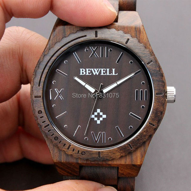 Vintage Watches For Sale >> Hot Sale Factory Price Bewell Wooden Watch Miyota Movment Vintage