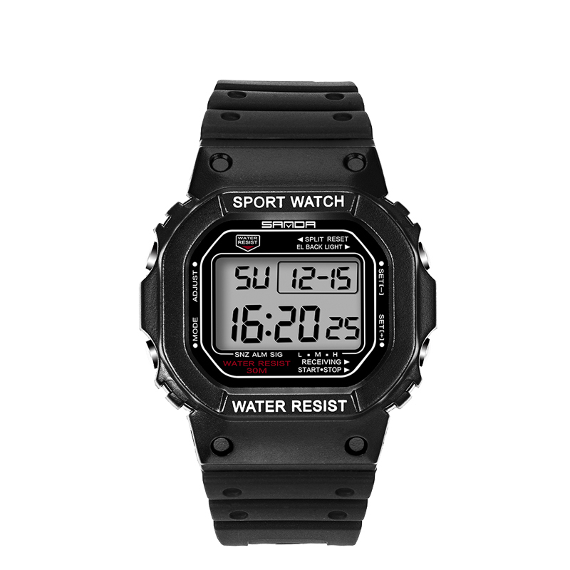 Unisex waterproof wrist digital automatic watches digitais watch running mens women digitales clock diving sport watch