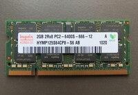 Пожизненная гарантия DDR2 2 GB 800 MHz PC2-6400S оригинальный подлинный DDR 2 2G ноутбук память ноутбук ram 200PIN SODIMM