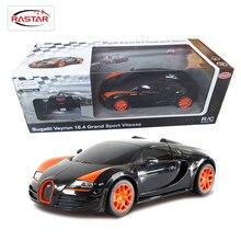 Марка Rastar Лицензия 1:18 Дистанционного Управления Автомобилей Мальчики RC Toys Машин На Радиоуправляемые Bugatti Grand Sport Vitesse 53900