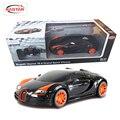 Rastar licensed 1:18 rc cars controle remoto car toys para meninos máquinas no rádio controlado bugatti grand sport vitesse 53900