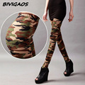 2016 Womens Military Style Camouflage Graffiti Print Elastic Combed Cotton Silm Leggings Gothic Female Leggings Pants For Women