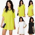 Nuevo estilo del verano dress pretty tunique femme robe de plage ropa mujer vestido de fiesta ropa de tweed beach dress