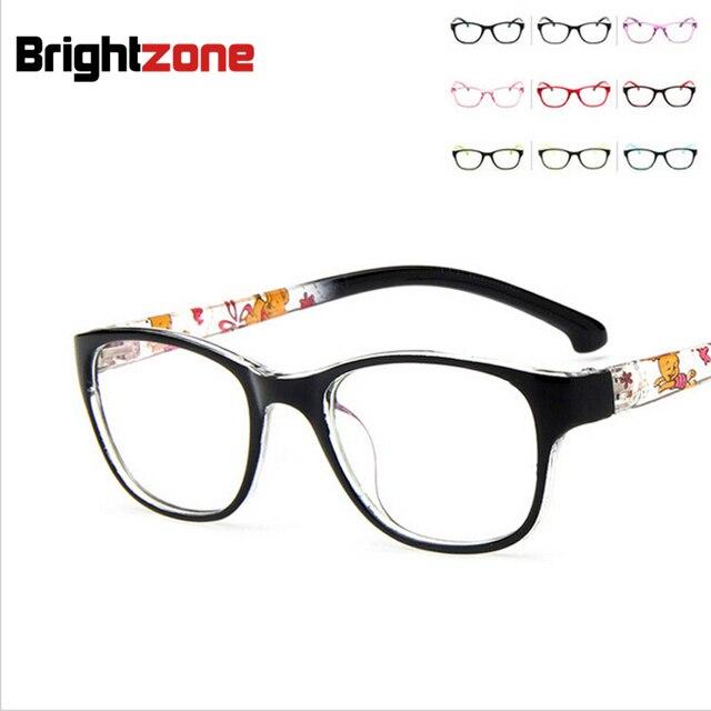60e9b2bc0 2016 جديد الاطفال الفتيان الفتيات عادي نظارات لطيف الأطفال إطار نظارات قصر  النظر Rx النظارات إطارات