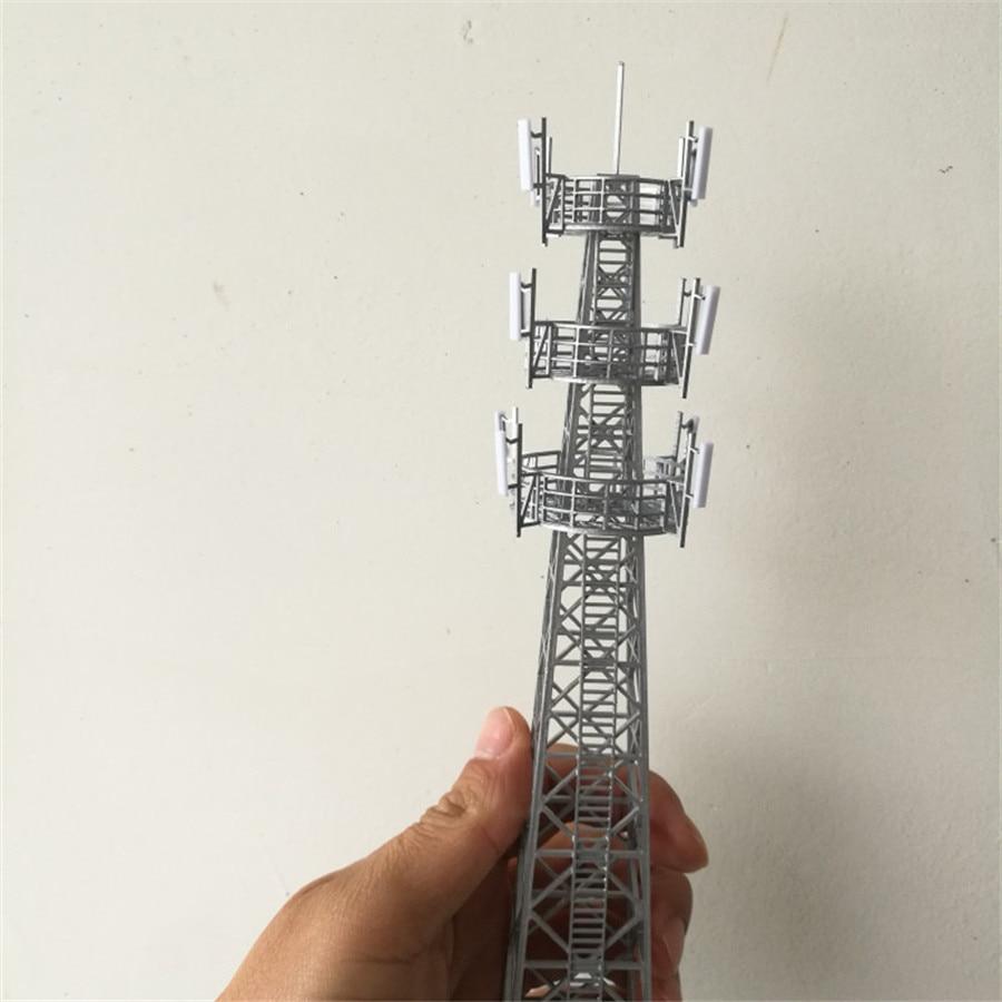 1pc lot ho n z scale Model tower Building for Scenery Sand railway Railroad Railing Train