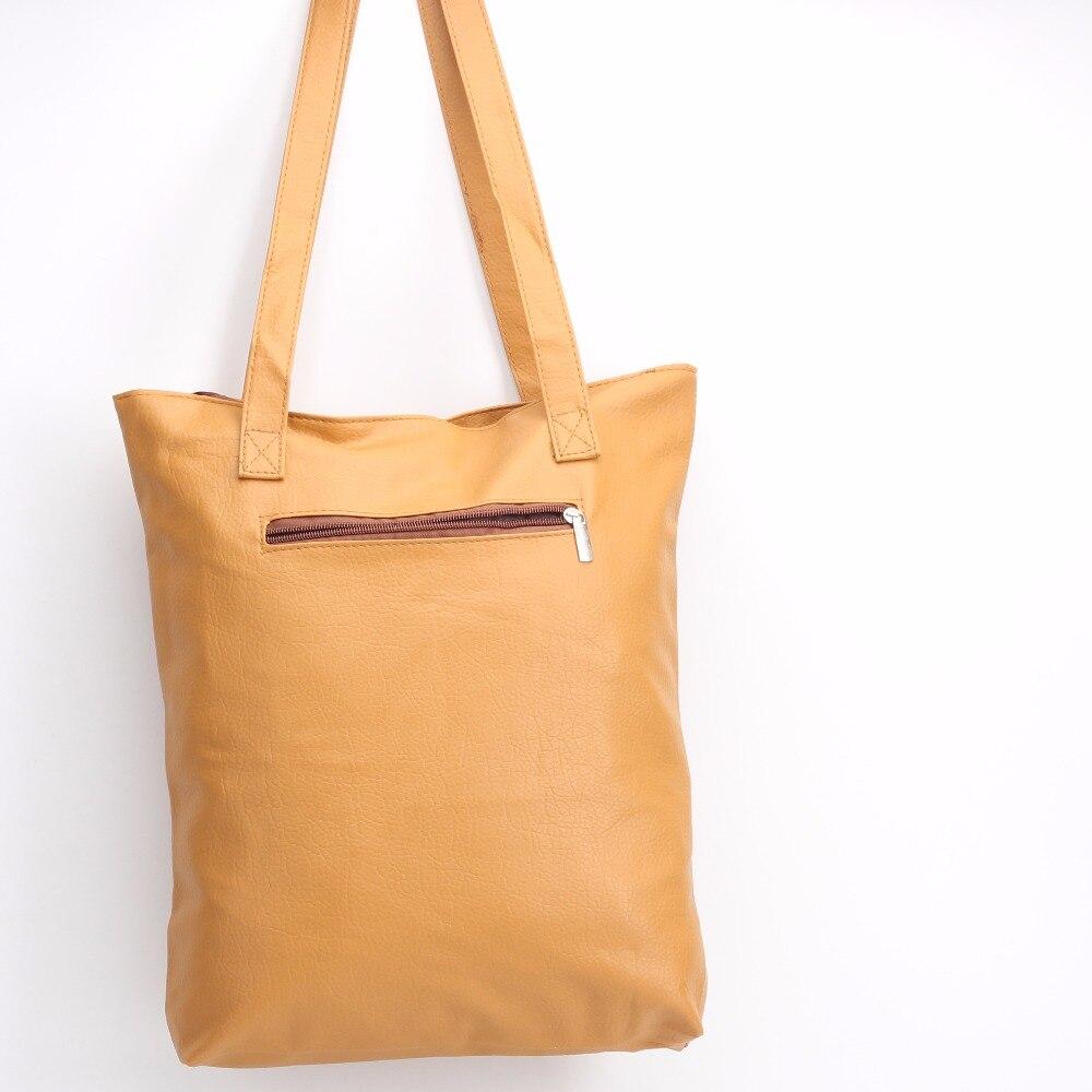 Donqian高品質大容量ファッション韓国語バージョン軽量シンプルなポータブル革ショルダー斜めのパッケージ