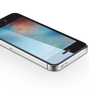 Image 2 - Verre trempé 2.5D pour iphone 7 protecteur décran demi protection décran pour iphone 4 5 6 6s plus 7 7plus 8 8plus X film de verre