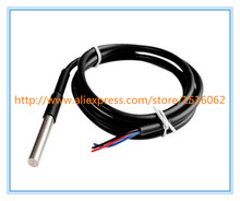 Stainless steel package Waterproof DS18b20 temperature probe temperature sensor 18B20 For Arduino