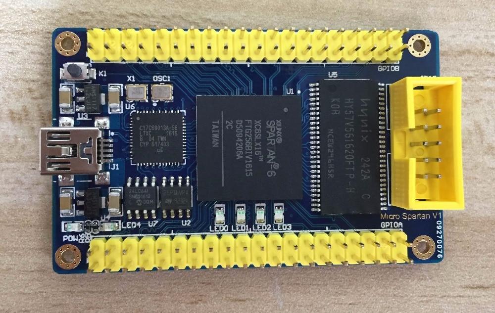XILINX FPGA Minimum Core Board XC6SLX16+USB+SDRAM Compatible LX9 LX25