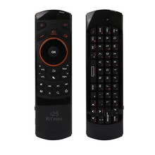 цена на Rii mini i25 2.4GHz Wireless Arabic Version Keyboard Fly Air Mouse Ergonomic Remote Controller for Tablet PC Android TV Box