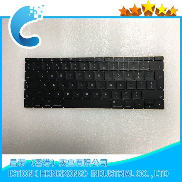 "Genuine NEW Laptop Year 2016 A1534 UK Keyboard for MacBook Retina 12"" A1534 UK Keyboard MLHA2 MLHC2 EMC 2991"