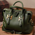 New Genuine Leather Women Handbags High Quality Motorcycle bag Leisure City Bags Fashion fFmous brands Real Leather Bag