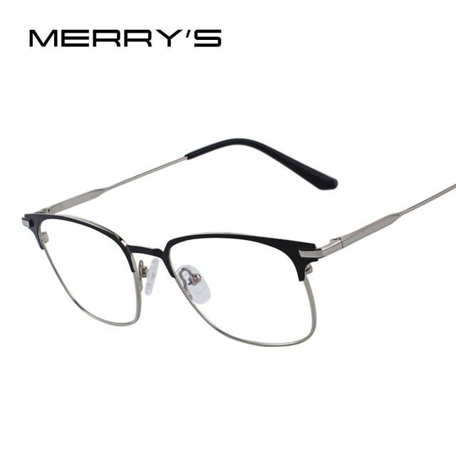 MERRYS дизайн для мужчин модные очки Бизнес Стиль оправы для очков S2085