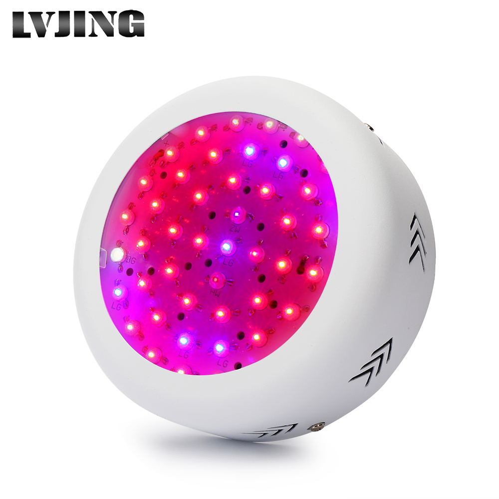 Full Spectrum MINI UFO High Power Grow Light 150W IR+UV LED phyto lamp for Hydroponics Indoor Plants Flowers Vegs Growing Tent