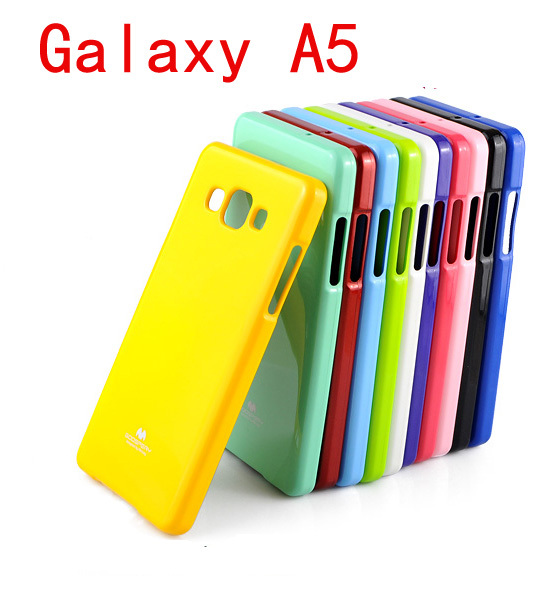 buy popular 41912 d4faf US $4.74 5% OFF|For Galaxy A5 TPU Case, MERCURY GOOSPERY JELLY CASE Bling  Shining TPU Case for Samsung Galaxy A5 A5000 2015 + retail freeship-in ...
