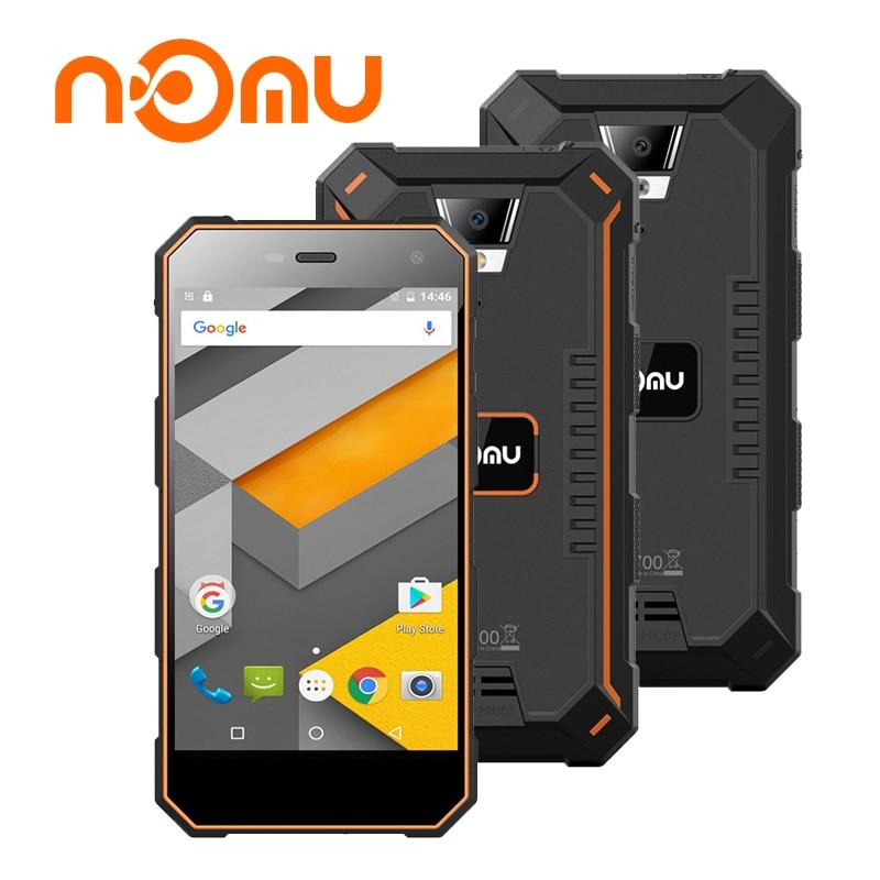 Nomu S10 MTK6737T 5 0 Inch Quad Core 4G Waterproof Smartphone Android 6 0 RAM 2GB