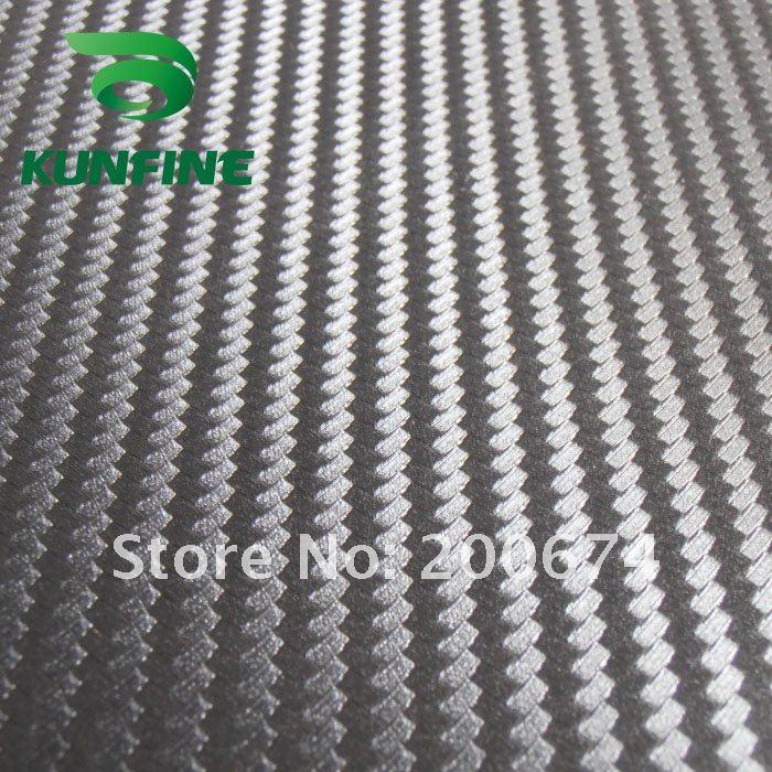 Fedex Free shippng Air Free Bubbles1 52 30M Roll black color 3D Carbon Fiber Vinyl Car