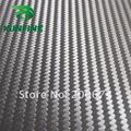 Fedex Free shippng ! Air Free Bubbles1.52*30M/Roll black color 3D Carbon Fiber Vinyl Car Sticker car wrap film thickness:0.14mm