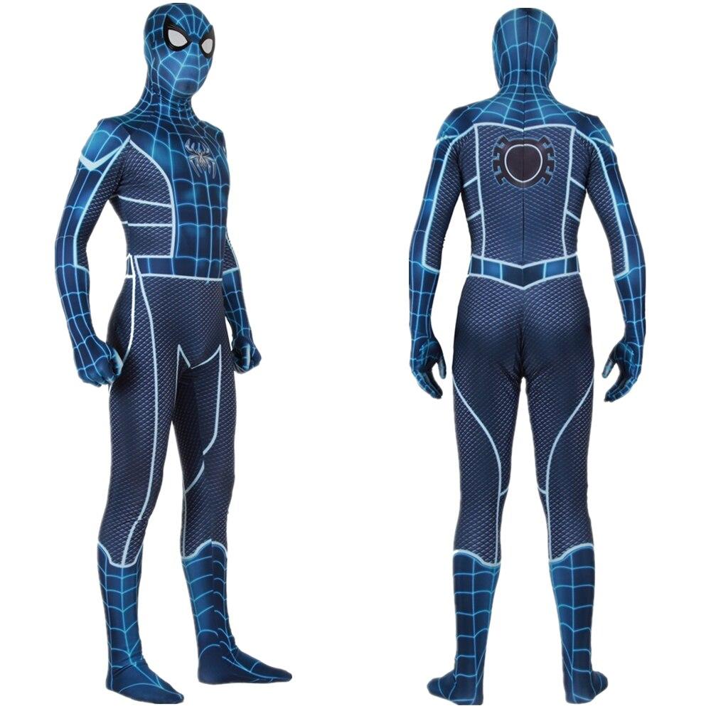 Adult Kids Spider Man Fear Itself Suit Cosplay Costume Zentai Spiderman Superhero Bodysuit Jumpsuits