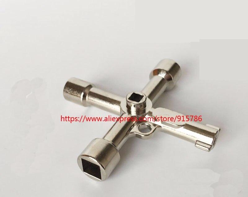 1 шт. 5 в 1 Лифт многофункциональный ключ/шкаф управления/поезд треугольник ключ/Metro кран счетчик воды клапан четыре угла ключ
