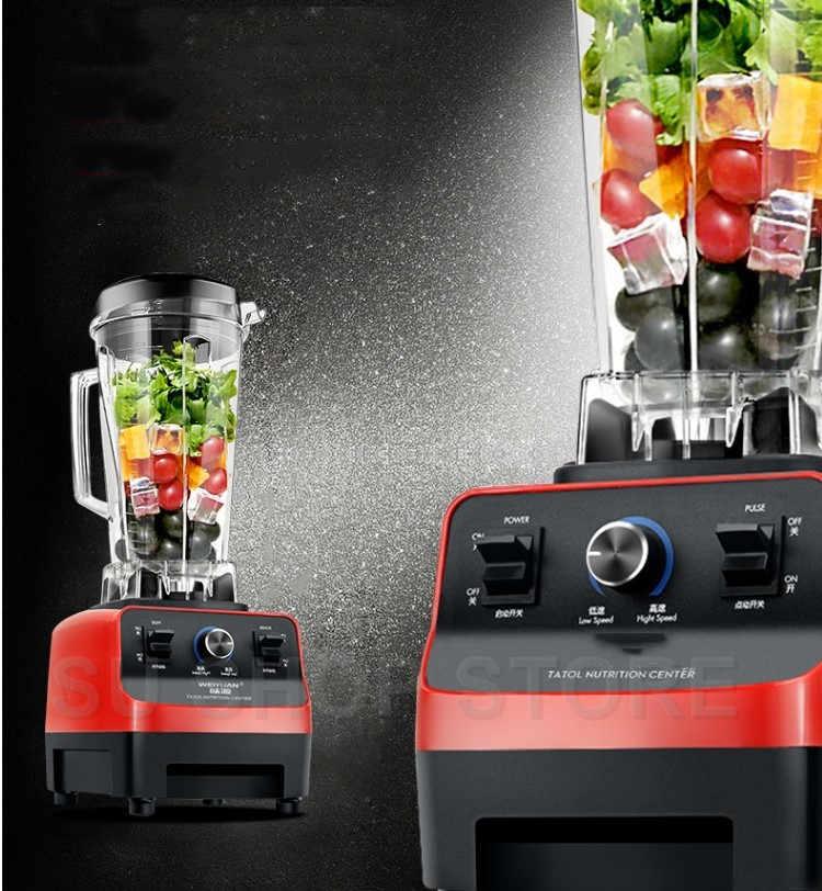 2L Pesados Liquidificador Comercial Liquidificador Poder Profissional Misturador Processador de Alimentos Juicer Japão Lâmina