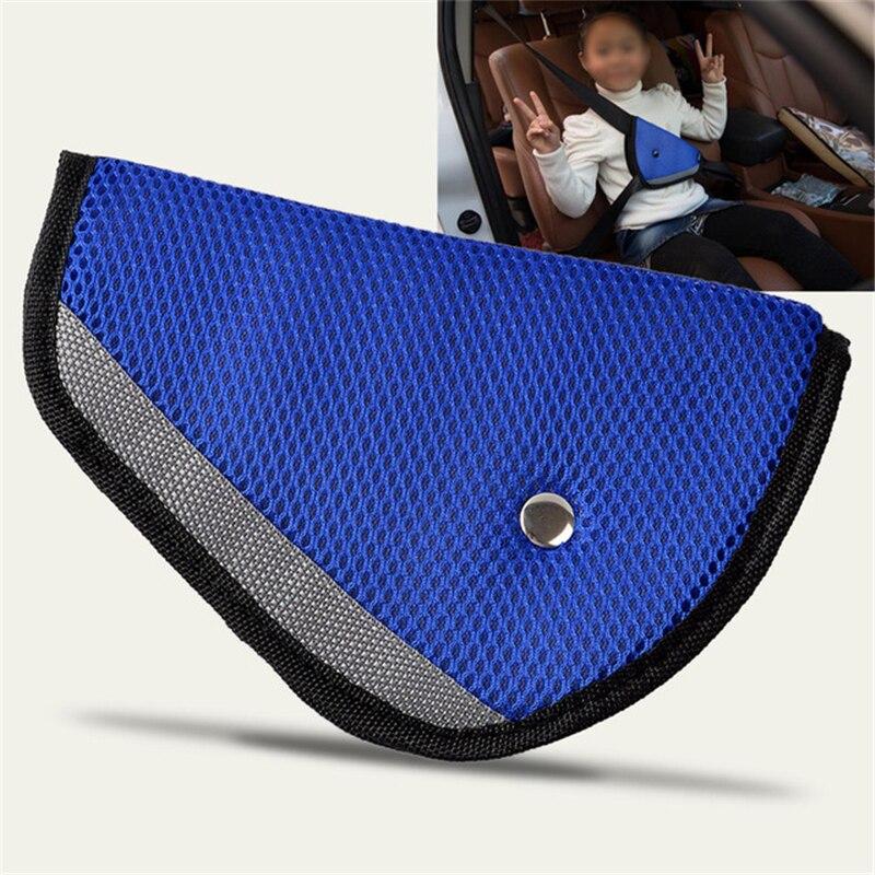 Baby Kid Car Safe Fit Seat Belt Adjuster Device Auto Safety Shoulder Harness Strap Cover Child Neck Protect Positioner Belt