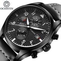 2018 Hot Men Watch Relogio Masculino OCHSTIN Watch Chronograph Top Brand Luxury Sport Watches Men Clock Quartz Wristwatch Male