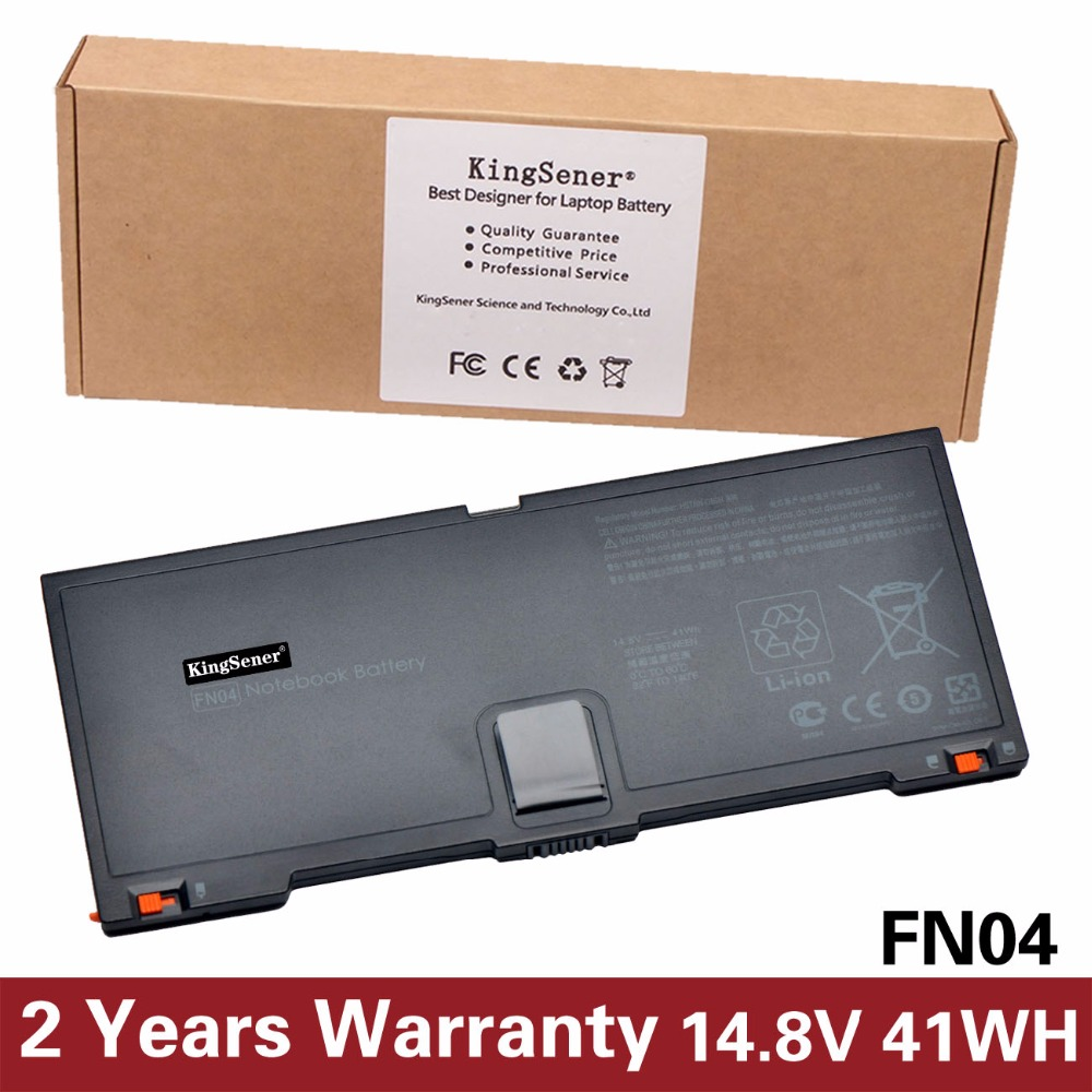 14.8V 41WH KingSener New FN04 Battery for HP ProBook 5330m FN04 HSTNN-DB0H 635146-001 QK648AA Free 2 Years Warranty new quadro fx 5800 fz559aa 519299 536797 001 drawing graphics warranty 3 years