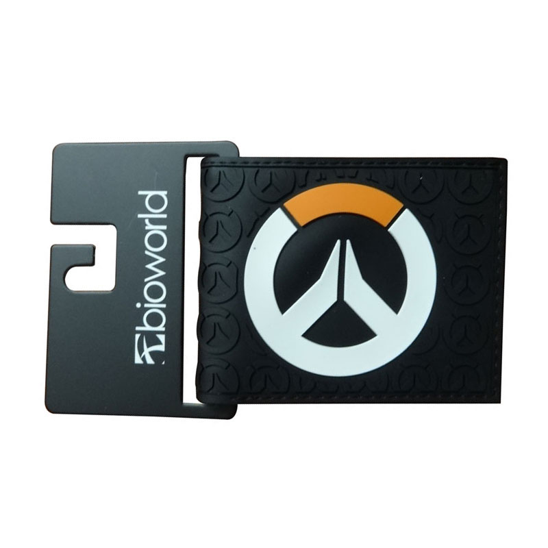 New Arrival Overwatch Wallet carteira for Male Men Creative Gift Purse Card Holder Bags Hero Over Watch PVC Short Wallet hot pvc purse games overwatch wallets for teenager creative gift money bags fashion casual men women short wallet
