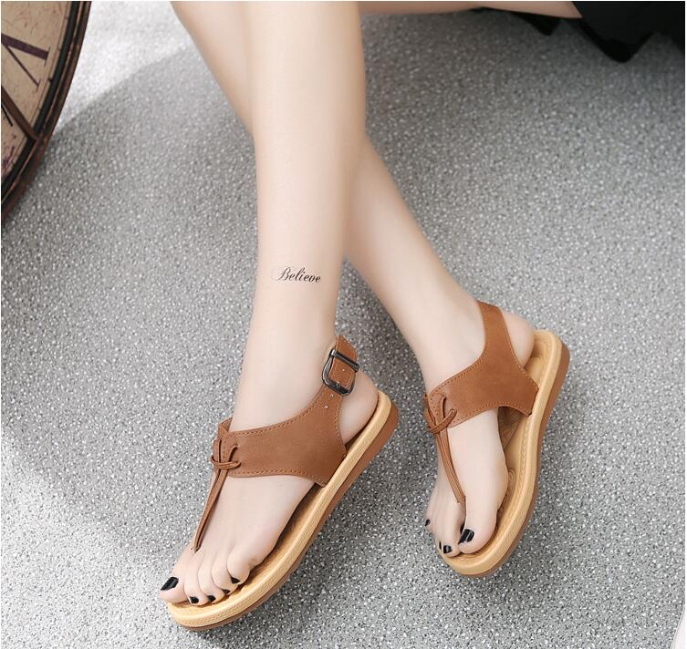 New Summer Women Sandals Fashion Jelly Shoes Flip Flops Casual Women Flat Sandals Shoes Female Footwear Beach Shoes bottomed toe women s shoes 2017 summer new fashion footwear women s air network flat shoes breathable comfortable casual shoes jdt103