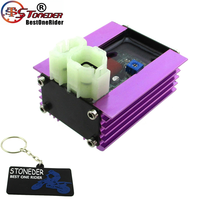 STONEDER 12V Adjustable Racing AC Ignition CDI Box For GY6 50cc 125cc 150cc Engine Chinese ATV Quad 4 Wheeler Moped Scooter