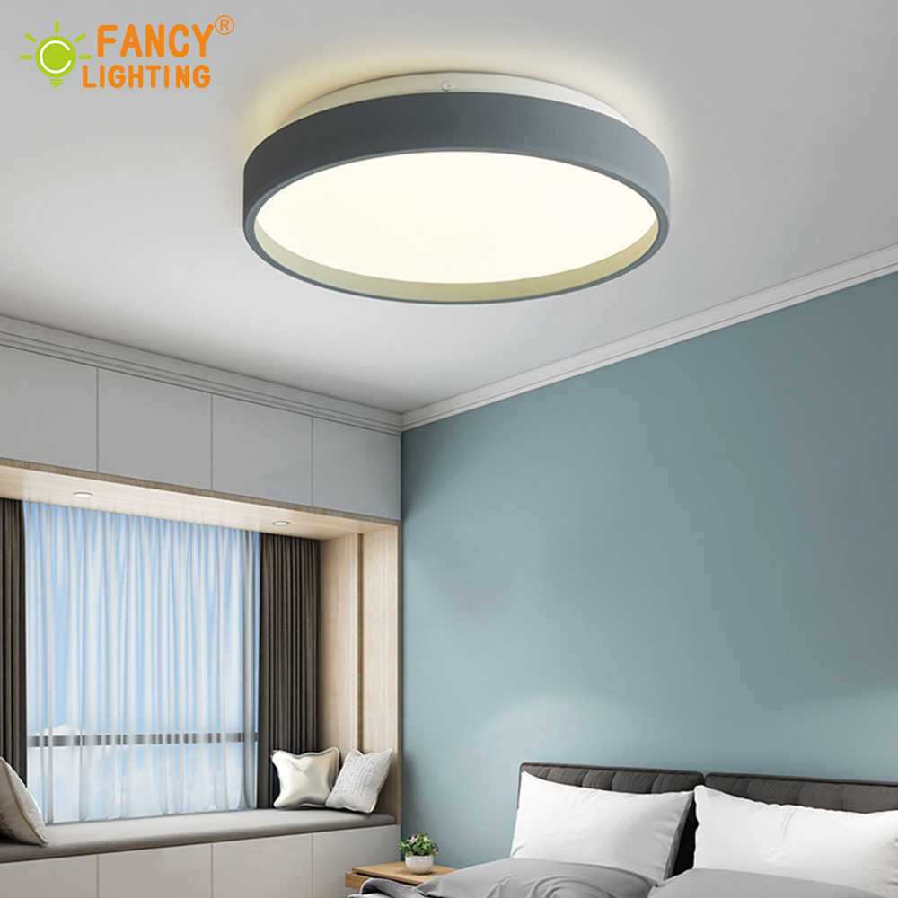 Modern Led Ceiling Lights Cold White LED Panel Lamp 23CM/35CM 12W/18W Plafonnier Led for Bedroom/Living Room Led Ceiling Panels