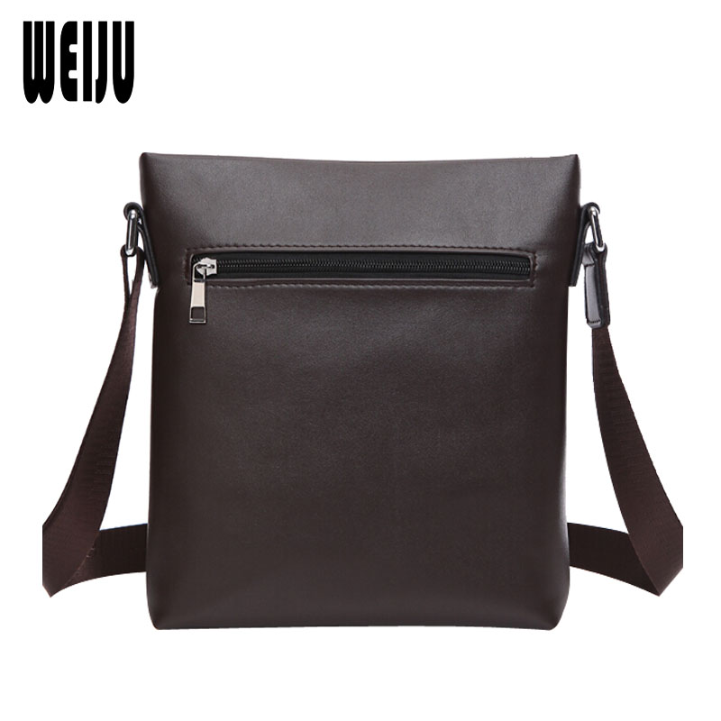 WEIJU 2017 New Leather Men Messenger Bags British Style Fashion Travel Bags All-match Shoulder Bag 27*23*5cm YA0184  men messenger bags 2015 27 shoulder bag