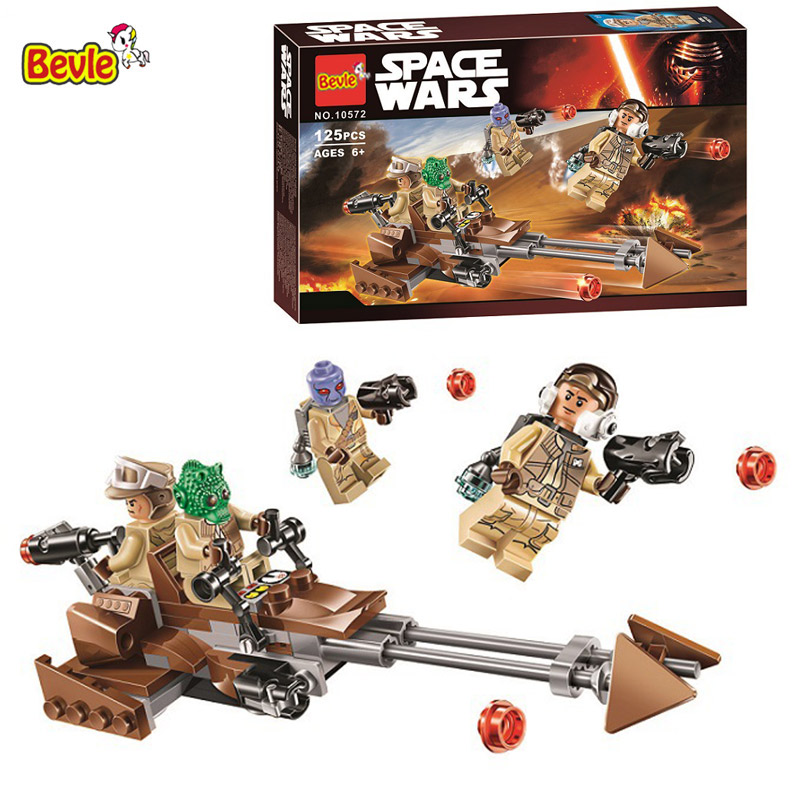 Toys & Hobbies 125pcs New Space Wars Rebel Alliance Battle Pack 10572 3d Figure Building Blocks Movie Sets Children Toy Compatible With Legoing And To Have A Long Life. Blocks