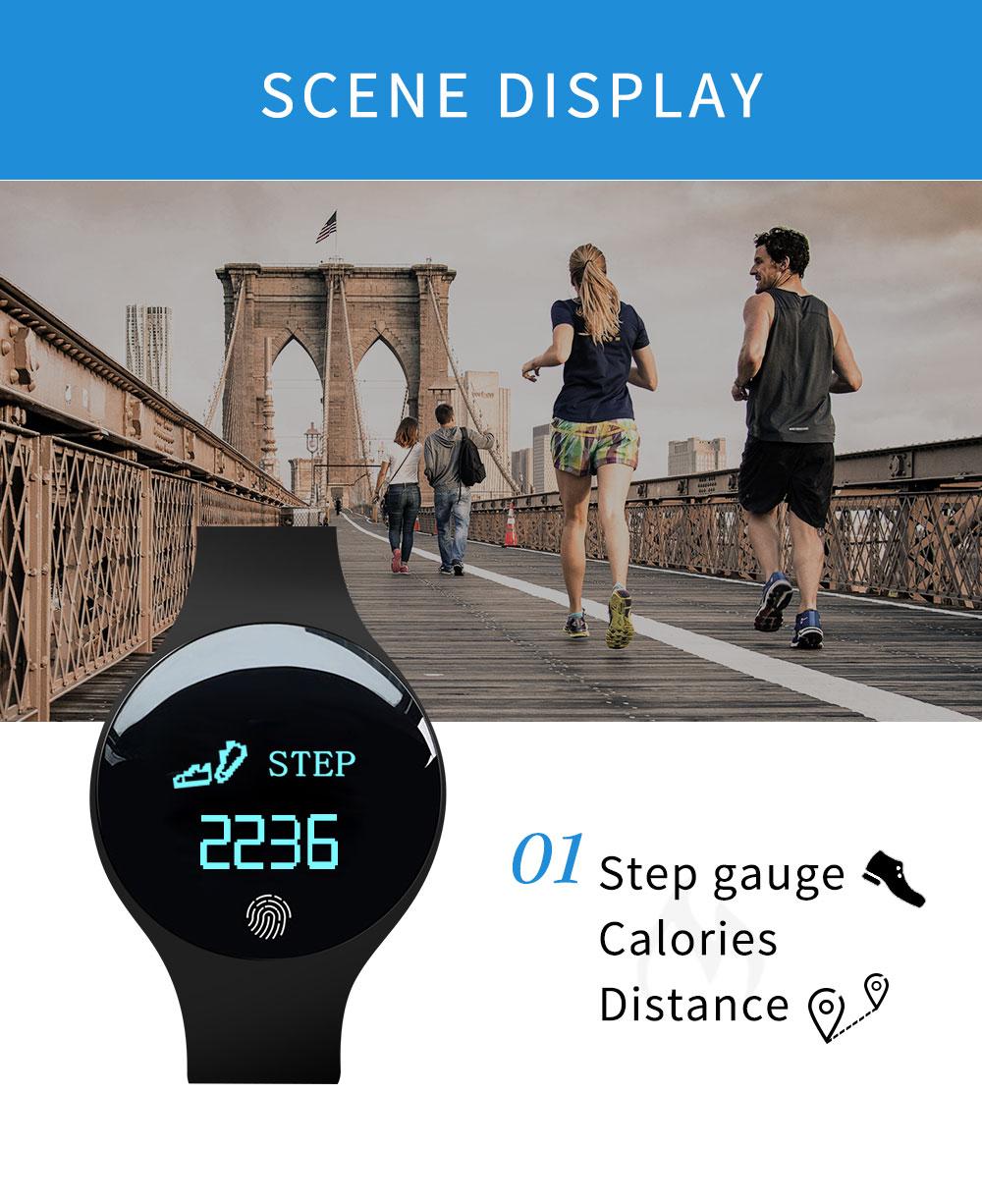 Reloj inteligente podómetro Bluetooth 7