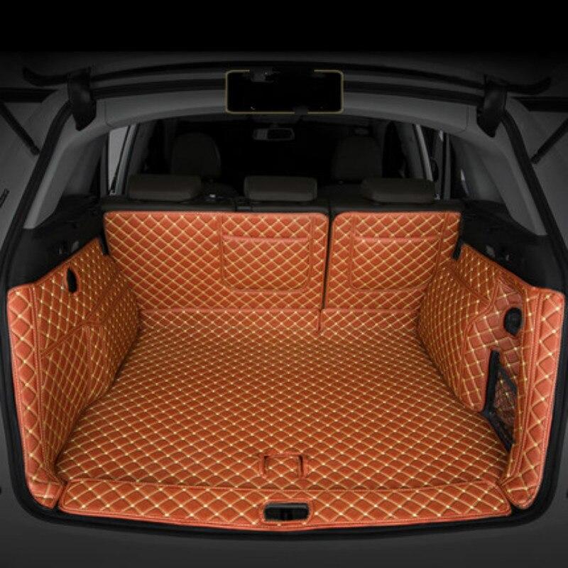 Полный Крытая Водонепроницаемый прочные нескользящие заказ автомобиля коврик для обуви магистрали ковры для Audi Q5