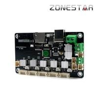 Zonestar ZMIB Reprap placa base de impresora 3D Mini placa madre altamente integrada ATMEGA1284P para Z5 y Z6|Accesorios y partes de impresoras 3D| |  -