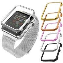 Часы группа Интимные аксессуары чехол Алюминий для Apple iwatch 38 мм 42 мм все модели спорт издание ремешок смотреть защитный чехол