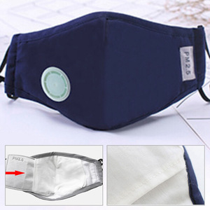 Image 2 - Anti Pollution Mask Dust Respirator Washable Reusable Masks Cotton Unisex Mouth Muffle For Allergy/Travel/ Cycling