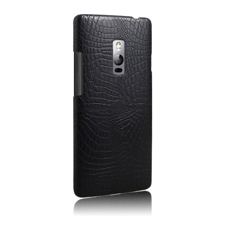 Case for Oneplus 2 Phone Cases Luxury Crocodile PU leather + PC Hard Back Cover For Oneplus two case