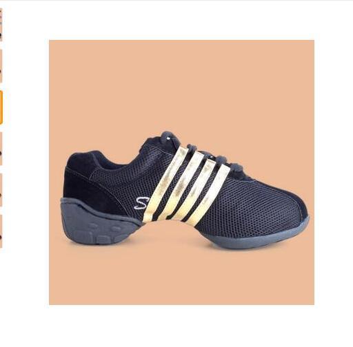 Shoes Jazz Hip Hop Shoes Salsa Latin Dance Sneakers For Woman Shoes Plus
