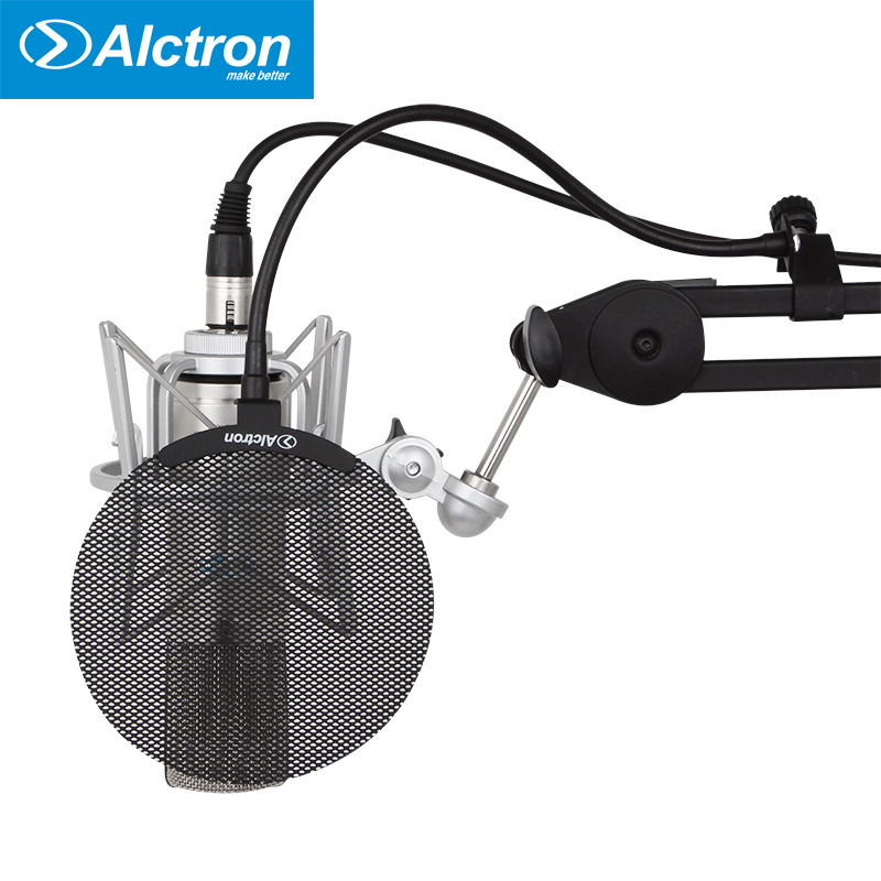 Alctron MA019B New metal screen mini pop filter for Microphones микрофон blue microphones yeti usb