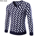 New Autumn Winter Fashion clothing Casual Sweater men V-Neck Slim Fit Mens Sweaters And Pullovers