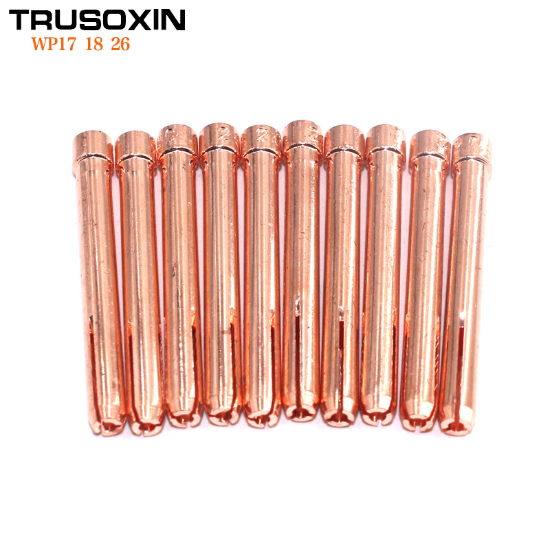 15Pcs Welding Tools Accessory TIG Inverter DC Welding Machine Welder Equipment 1.6mm/2.0mm/2.4mm/3.0mm/3.2mm TIG Tungsten Collet