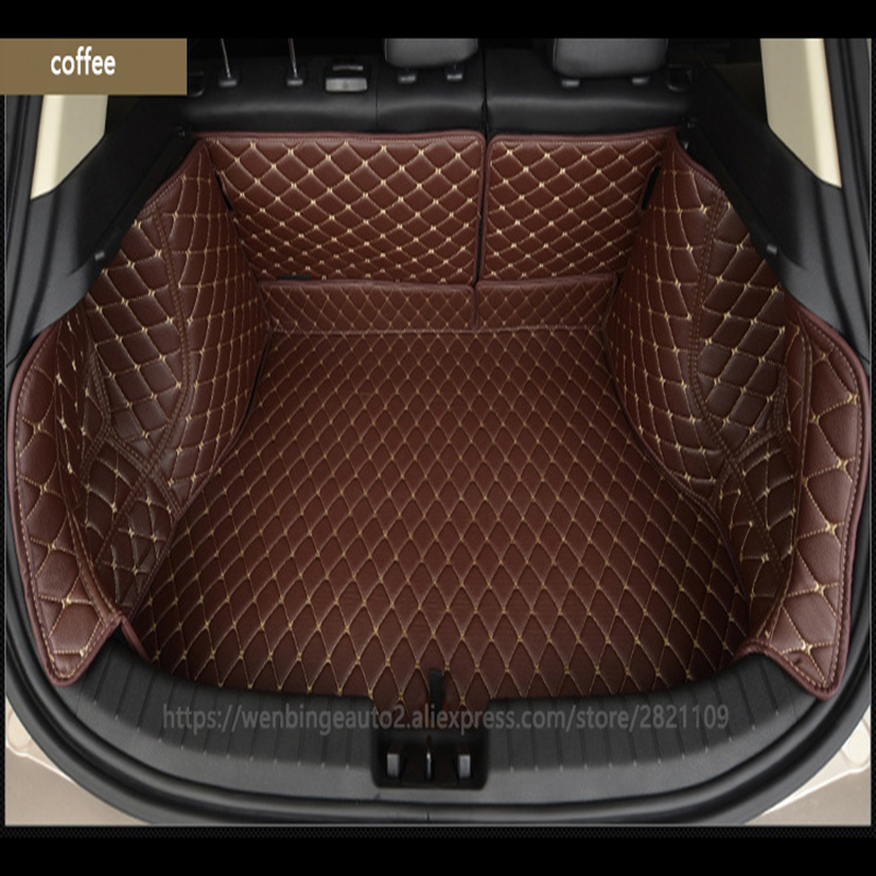 Custom Car Trunk Mat Cargo Liner For  Toyota All Models C-hr Rav4 Corolla Toyota Land Cruiser Wish Yaris Custom Cargo Liner