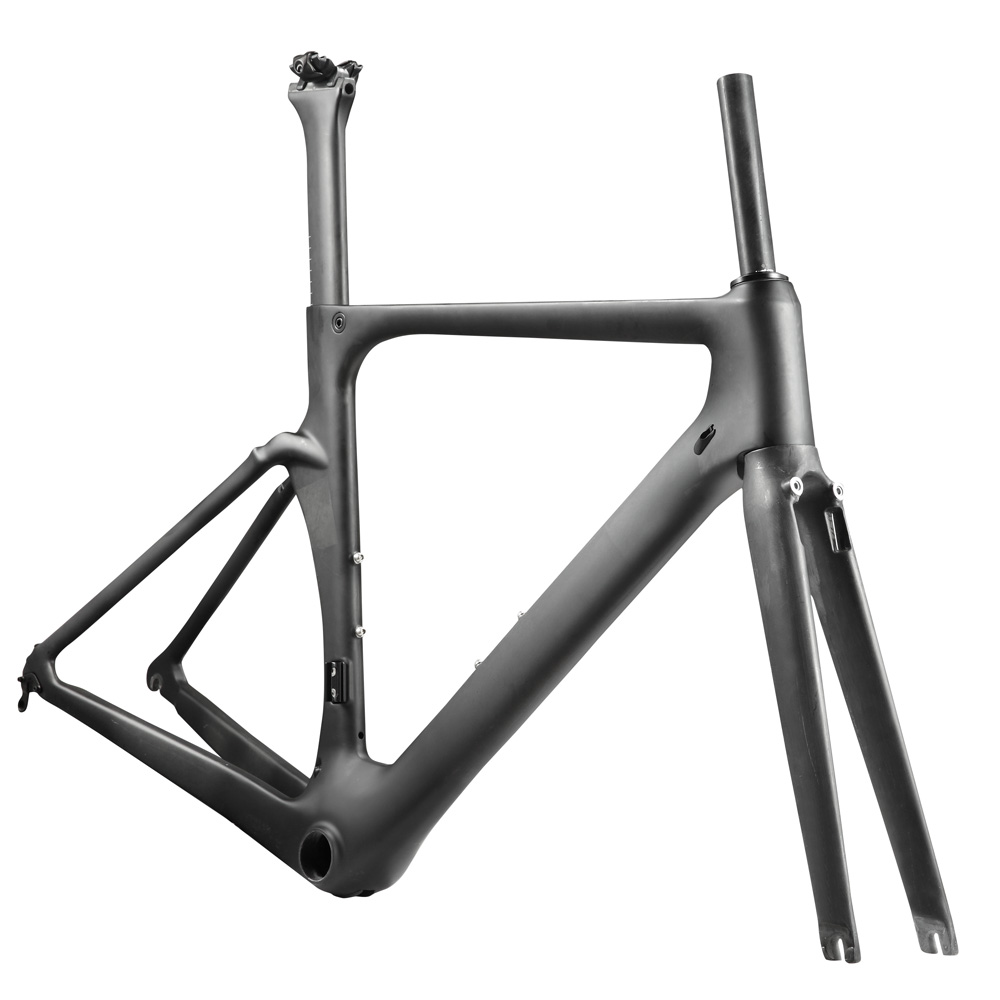 OG-EVKIN DI2 Mechanical Bicycle Frameset 48 52 54 56 59cm Light Carbon Road Bike Frame Carbon Road Frame 2018 Race Bike UD Matt 2018 carbon fiber road bike frames black matt clear coat china racing carbon bicycle frame cycling frameset bsa bb68