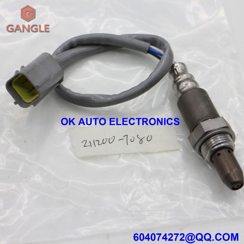 Capteur d'oxygène Sonde Lambda FUEL RATIO AIR O2 CAPTEUR pour INFINITI EX35 FX35 G35 M35 NISSAN 350Z 370Z 22693-1NA0A 211200-7080 2008-2010