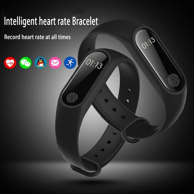Smart Band M2 Fitness Tracker Smart Bracelet Heart Rate Sleep Monitor Bluetooth Sport Watch Pedometer Wristband For Xiaomi Bands