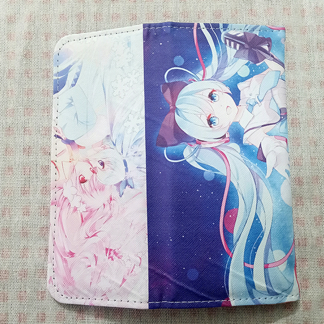 Anime Printed Wallet with Card Holder