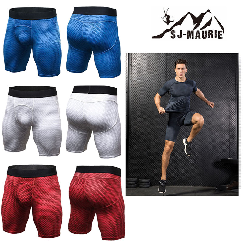 Männer Gym Shorts Camouflage Ausbildung Sport Shorts Crossfit Kompression Strumpfhosen Pantalon Gimnasio Hombre Jogginghose Laufshorts